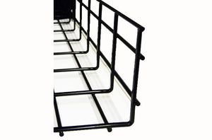WBT4X20SBL shaped cable tray 4 x 20 x 118 Black