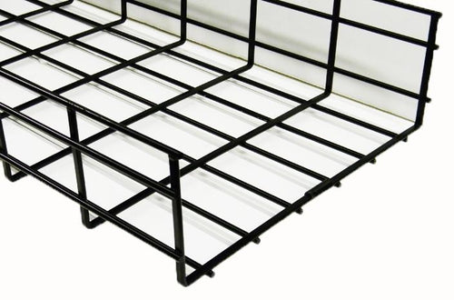 WBT4X6SBL shaped cable tray 4 x 6 x 118 Black