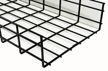 Load image into Gallery viewer, WBT4X24SBL shaped cable tray 4 x 24 x 118 Black