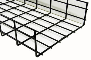WBT4X24SBL shaped cable tray 4 x 24 x 118 Black