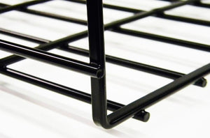 WBT4X18SBL shaped cable tray 4 x 18 x 118 Black