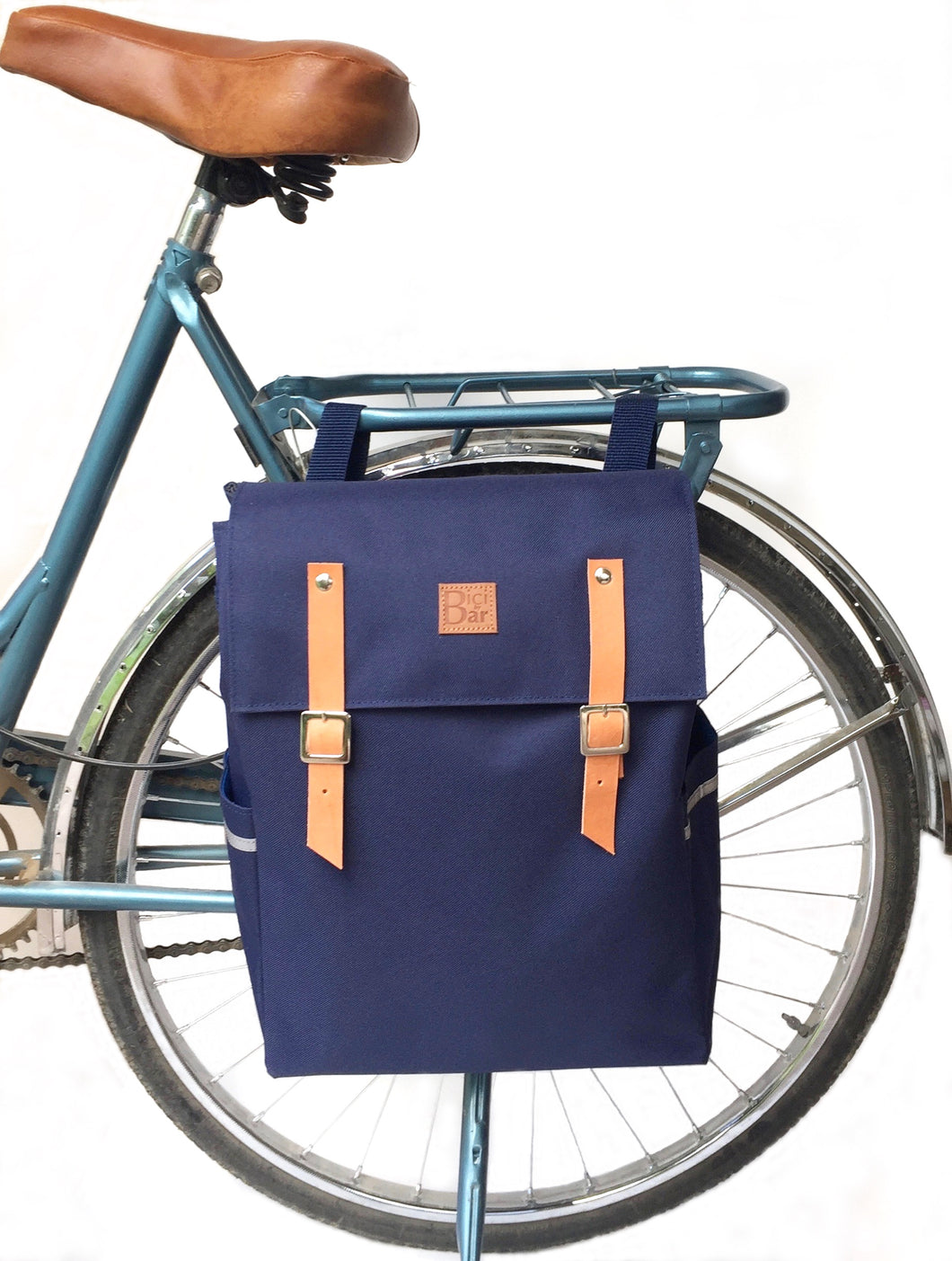 GAUCHO - Blue Waterproof Backpack Pannier