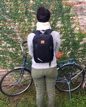 Load image into Gallery viewer, SPORT - Black Waterproof Backpack Pannier