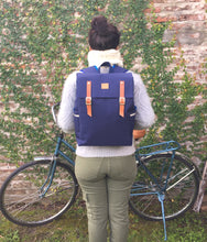 Load image into Gallery viewer, GAUCHO - Blue Waterproof Backpack Pannier