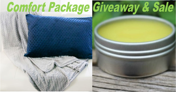 Comfort Package Giveaway & Sale