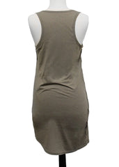 Loyal Army Women's Tank Top Dress with Diagonal Hem - 01