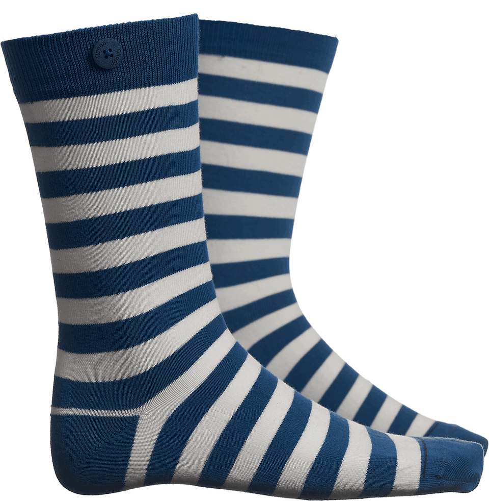 Plain Stripe - Sea Blue/White - QNOOP