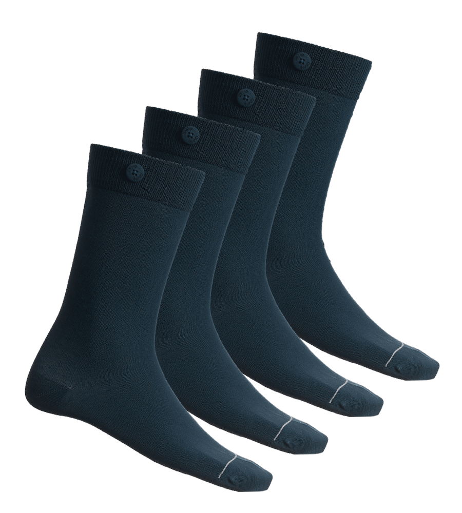 4 Pack Bundle - Solid Socks- Sea Green - QNOOP