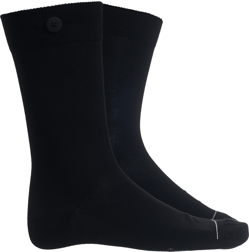 Solid Socks - Black - QNOOP