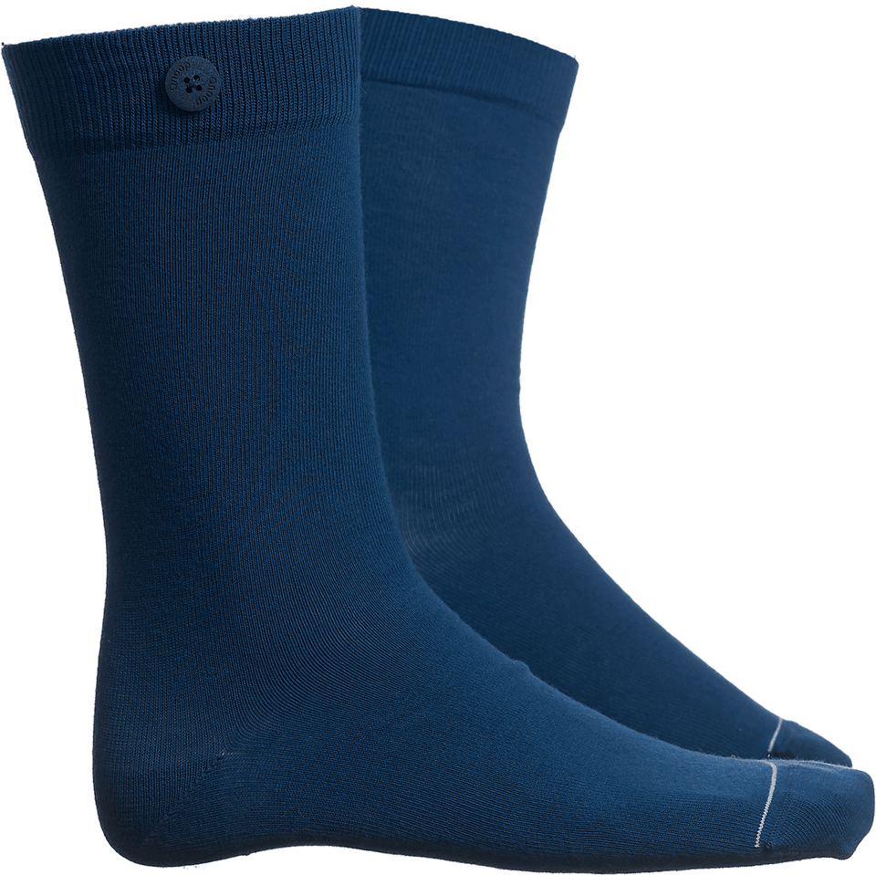 Solid Socks - Sea Blue - QNOOP
