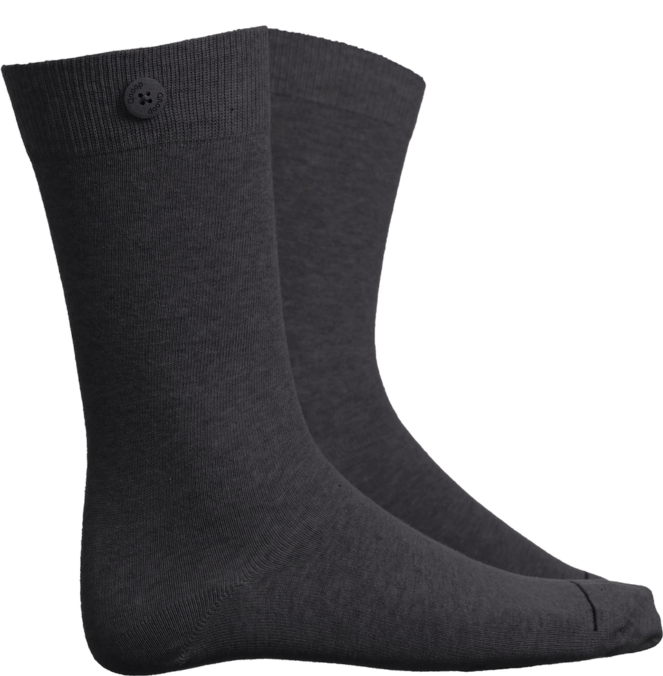 Solid Socks - Dark Grey - QNOOP