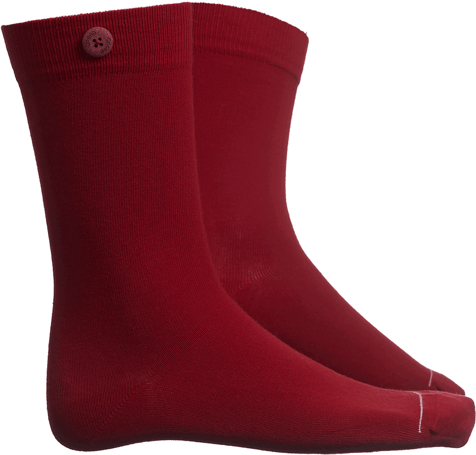 Solid Socks - Red - QNOOP