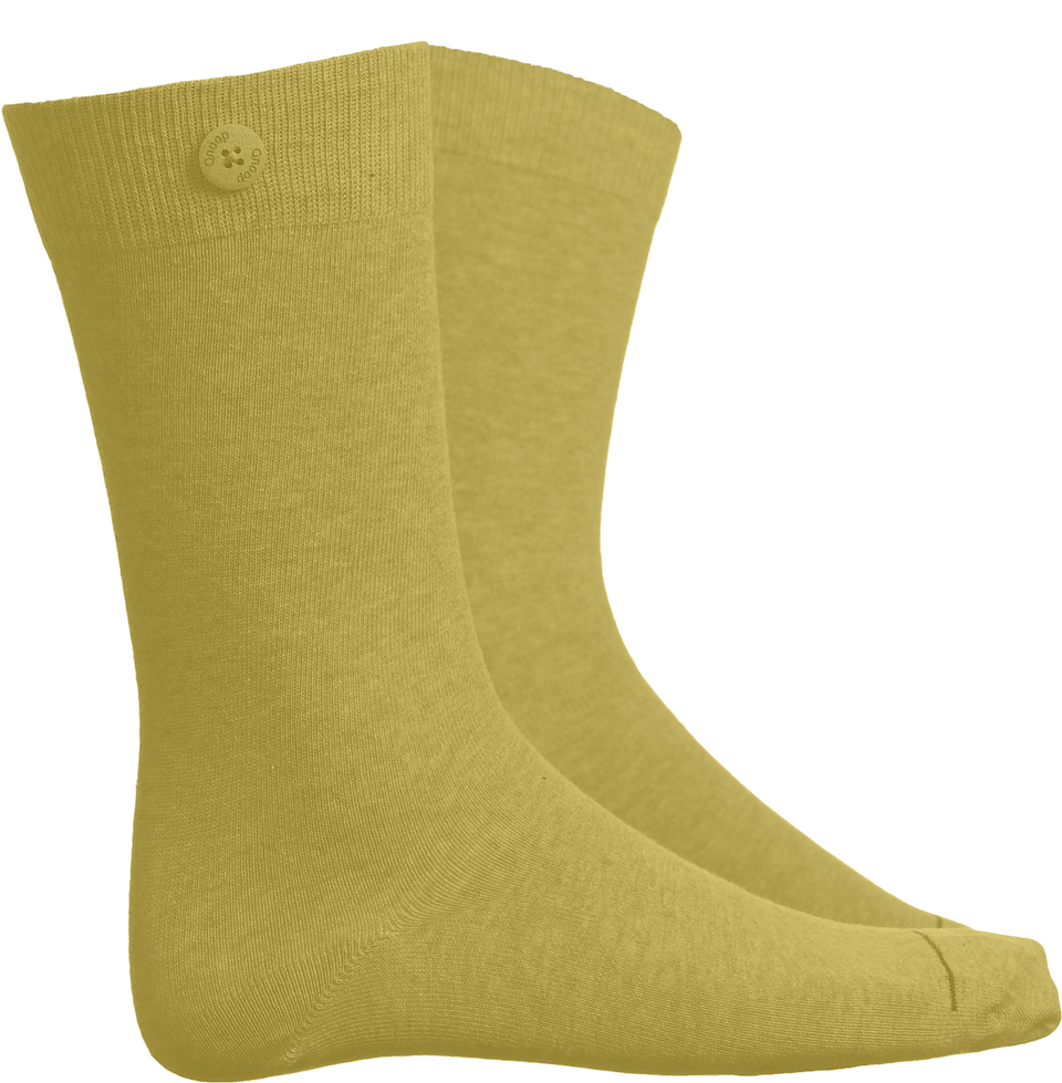 Solid Socks - Yellow - QNOOP