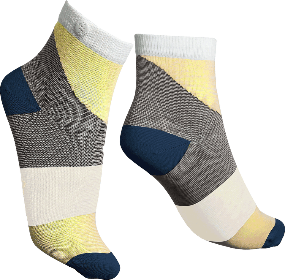 Qnoop Organic Athena Socks in Yellow