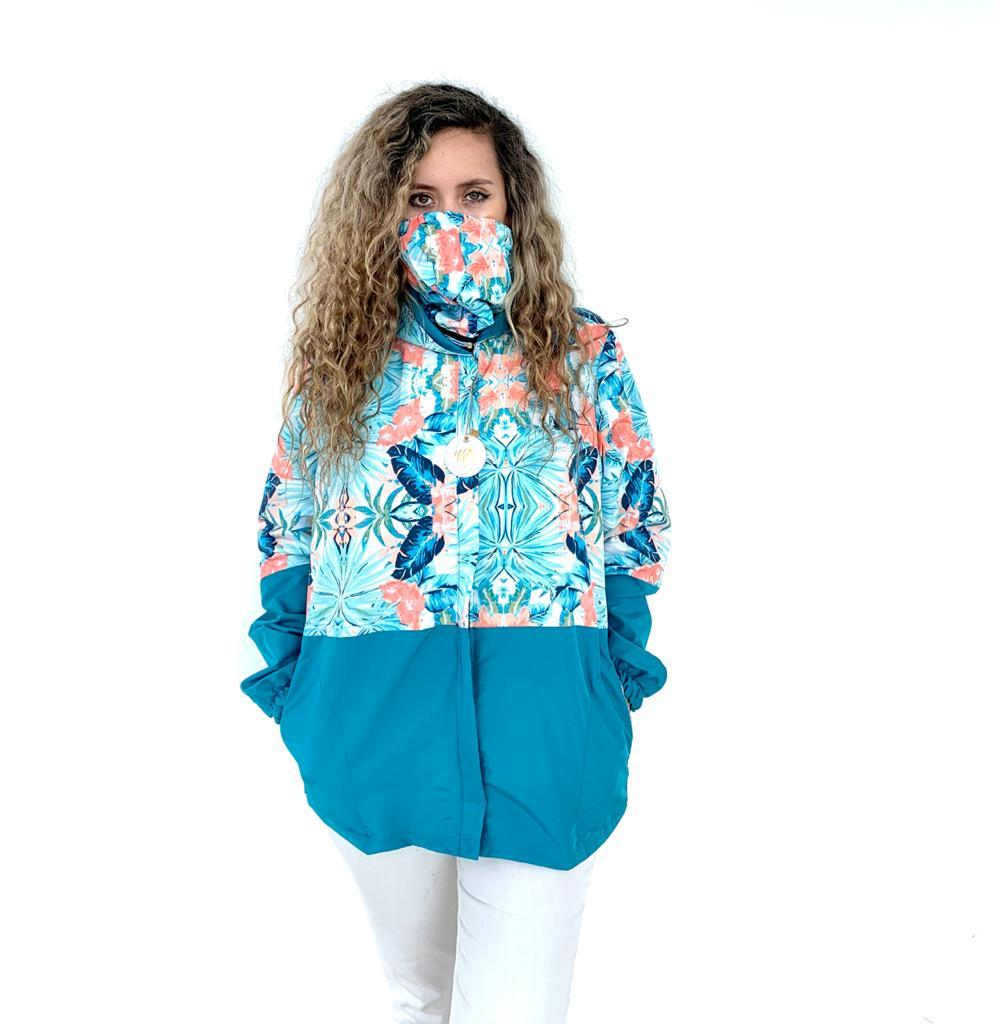 Tropical Blue Sunshine Jacket