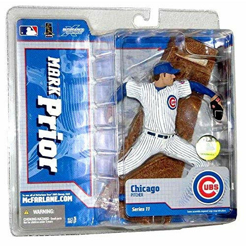 2005 Mark Prior McFarlane Figure Series 11 Chicago Cubs