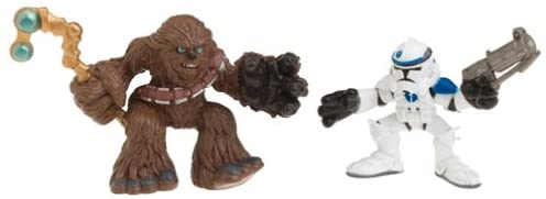 Star Wars Episode 3 Junior Figure 2 Pack Chewbacca & Clone Trooper