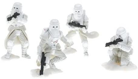 Hasbro Star Wars Unleashed Battle 4 Pack Imperial Snowtroopers