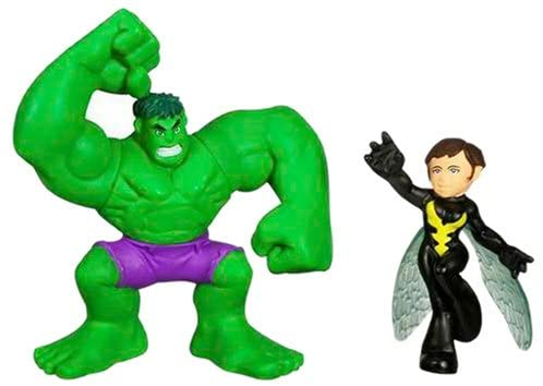 Marvel Super Hero Squad ? Hulk and Wasp