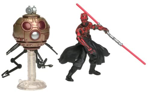 Darth Maul with Sith Attack Droid Star Wars Power of the Jedi