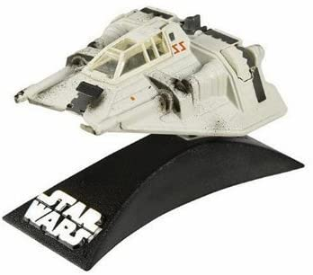 Star Wars Titanium Series Die Cast Metal Snow Speeder with Movable