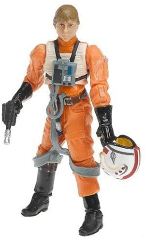 Star Wars 3.75 Vintage X-Wing Luke Figure