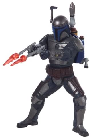 Hasbro Star Wars Power of the Jedi 2002 Sneak Preview Jango Fett