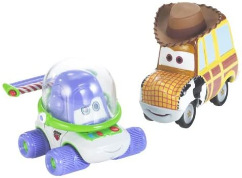 Cars Movie Moments: Buzz & Woody