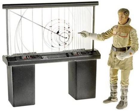Star Wars Hoth Evacuation General Rieekan with Hoth Tactical Screen