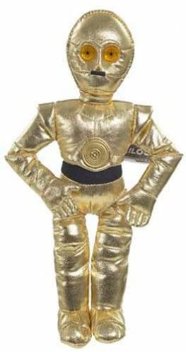 C3PO - Star Wars Saga Black Buddies Beanie Plush