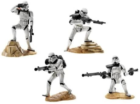 Hasbro Star Wars Unleashed Battle 4 Pack Sandtroopers