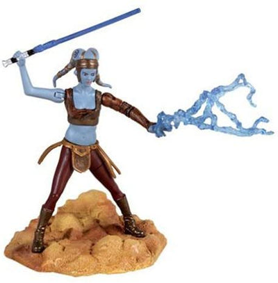 Star Wars Episode II Attack of the Clones Figure: Aayla Secura