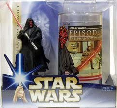 Star Wars: The Phantom Menace Darth Maul Collectible Figure & Cup