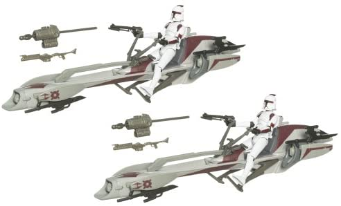 Star Wars 3.75 Inch Scale Battle Pack - Clone Wars Speeder Bike Recon
