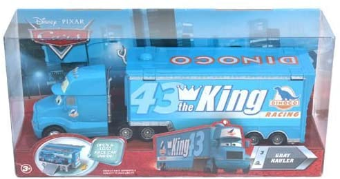 Disney Pixar CARS Movie Hauler King's Gray