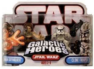Hasbro Star Wars Galactic Heros Anakin Skywalker & Clone Trooper
