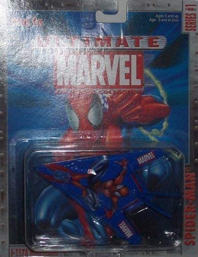 Marvel Maisto Ultimate Spider-Man F-117A Nighthawk Stealth Aircraft Diecast