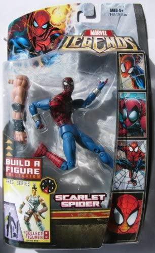 Marvel Legends Ares Series Scarlet Spider 6-Inch Scale Action Figure