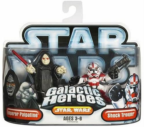 Hasbro Star Wars Galactic Hero Emperor & Red Shock Trooper