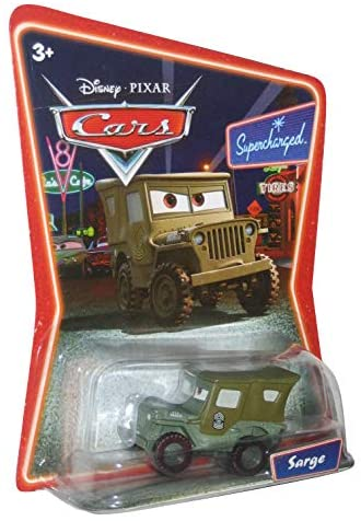 Disney Pixar Cars Supercharged Edition Sarge 1:55 Scale Mattel