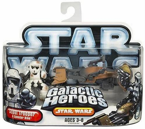 Hasbro Star Wars Galactic Hero Scout Trooper with Speeder Bike
