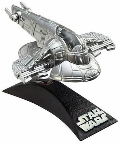Hasbro Titanium Series Star Wars 3 Inch Vehicle Silver Slave 1