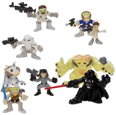 Star Wars Galactic Heroes Exclusive Deluxe Mini Figure Multi Pack The Battle of Hoth