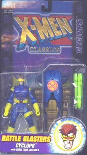 X-men Classics Cyclops Battle Blasters Action Figure