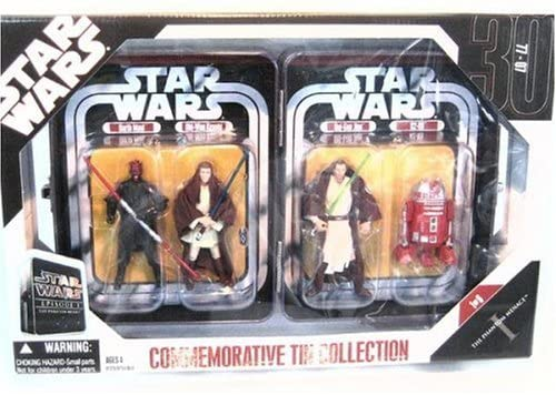 Star Wars Episode 1 The Phantom Menace Commemorative Tin Collection