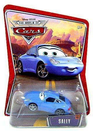 Disney Pixar Cars Sally World of Cars Edition Mattel 1:55 Scale