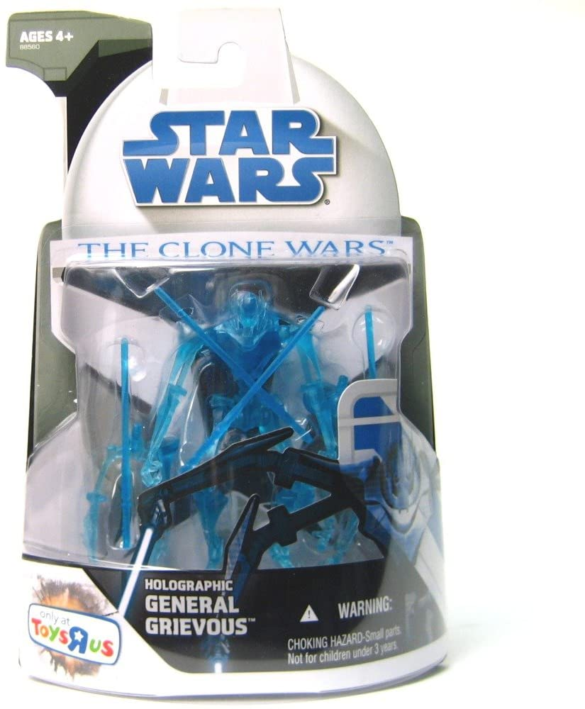 Star Wars The Clone Wars 2008 Exclusive Holographic General Grievous