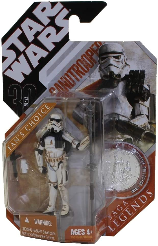 Star Wars The Saga Collection Basic Figure Sandtrooper