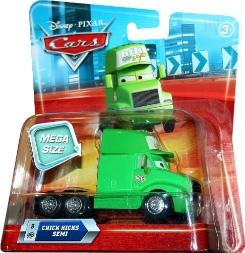 MEGA SIZE CHICKS HICKS SEMI #8 Disney / Pixar CARS 1:55 Scale Vehicle