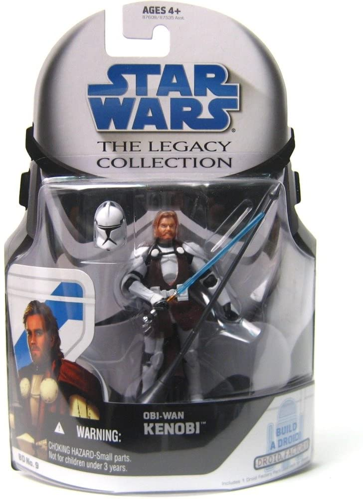 Star Wars The Legacy Collection General Obi-Wan Kenobi Action Figure